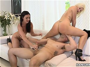 Brittany Shae and Laela Pryce 3some