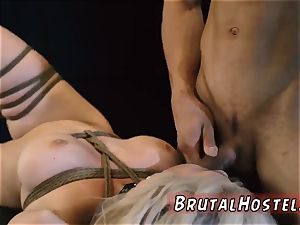 Monster brutally assfuck and bdsm shag Big-breasted light-haired cutie Cristi Ann is on