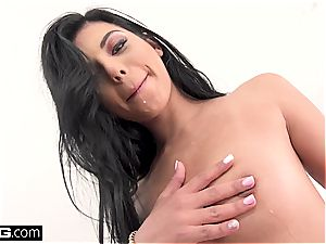 Gina Valentina gets every slot inserted and boinked