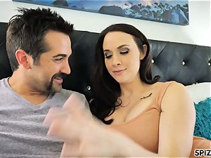 Spizoo - observe Chanel Preston blowing and porking