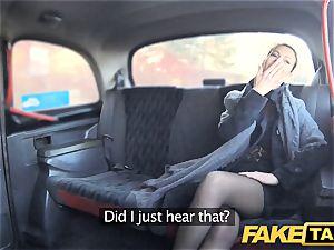 faux taxi Czech doll covets a rock-hard manhood