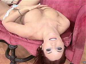 Jayden Cole whips out her sugary-sweet lush tits