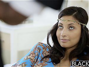 BLACKED very first multiracial For Rich lady Jade Jantzen