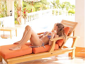 Madison Ivy and Nicole Aniston coochie fun in bikinis