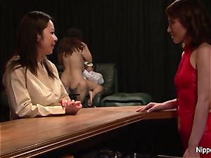 japanese milf at the fuckfest club gets frigged