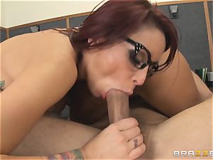 Mick Blue fantasizing in class about his educator Madison Ivy