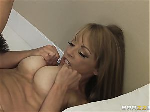 sexy mommy Shayla Laveaux gets the pulverizing she hankers