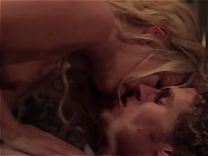 Aaliyah enjoy quiets her fellow with some molten intercourse