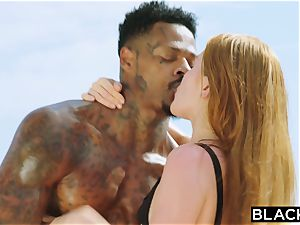 BLACKED bbc longing red Head Gets dominated On Vacation