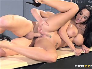 big-titted tutor Ava Addams is pulverized by her schoolgirl
