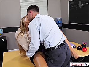 The best educator Nicole Aniston wants manhood for her blessing