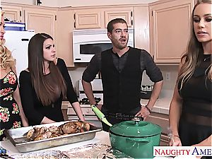 Brooklyn chase, Nicole Aniston and Summer Brielle pulverizes
