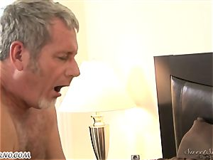 parent screws his youthful stepdaughter Nicole Ray