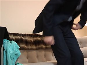 Alexa grace riding some firm fellow meat