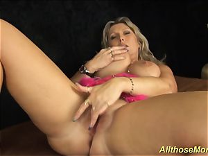 My ample melon super-naughty mommy alone at home
